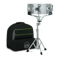 mapex-education-pack-14x55-snare-staender-practice-pad-sticks-trolley